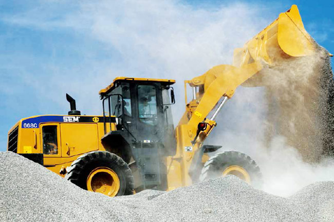 SEM668C Wheel Loader