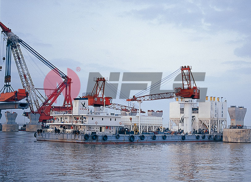 NANFANGLUJI HZS Series Maritime Work Concrete Mixing Station