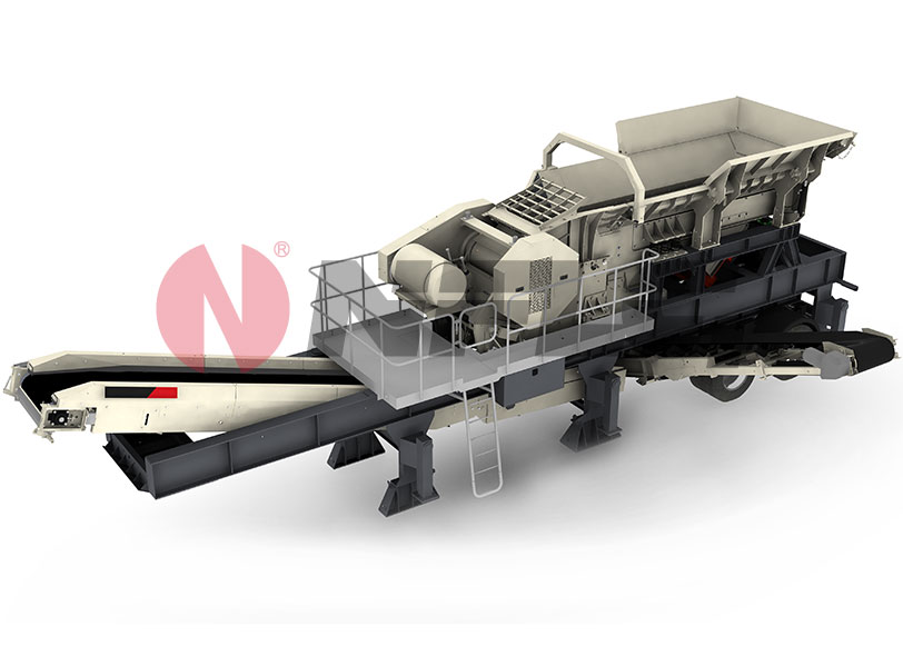 NANFANGLUJI NFJ1060 Tracked Mobile Jaw Crushing Station