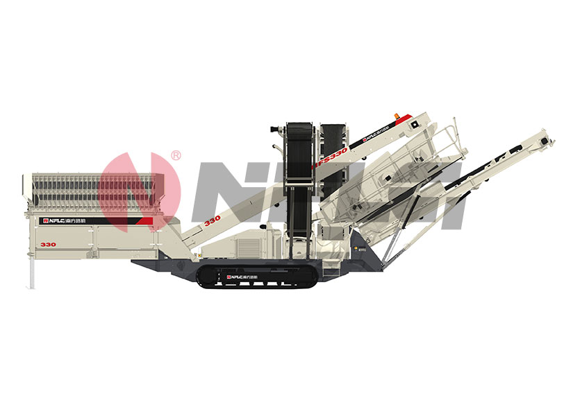 NANFANGLUJI NFS330 Tracked Mobile Inclined Screen