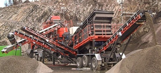 SANDVIK UH430E Wheeled unit