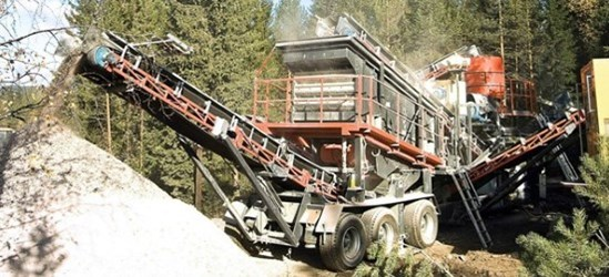 SANDVIK UH320 Wheeled unit