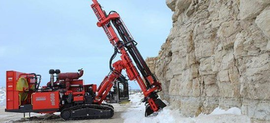 SANDVIK DR560 down-the-hole drill rig