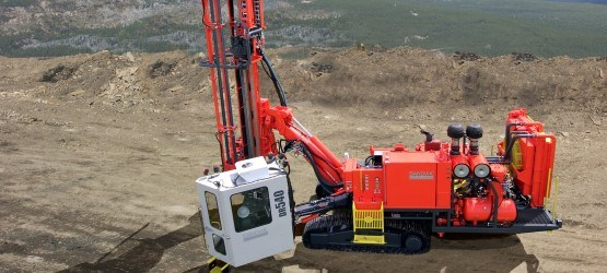 SANDVIK DR540 down-the-hole drill rig