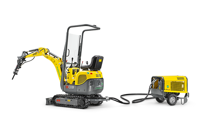 WACKER NEUSON 803 dual power  Tracked Conventional Tail Excavators