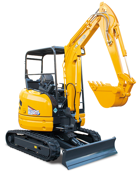 KATO HD25V4 Mini Excavators