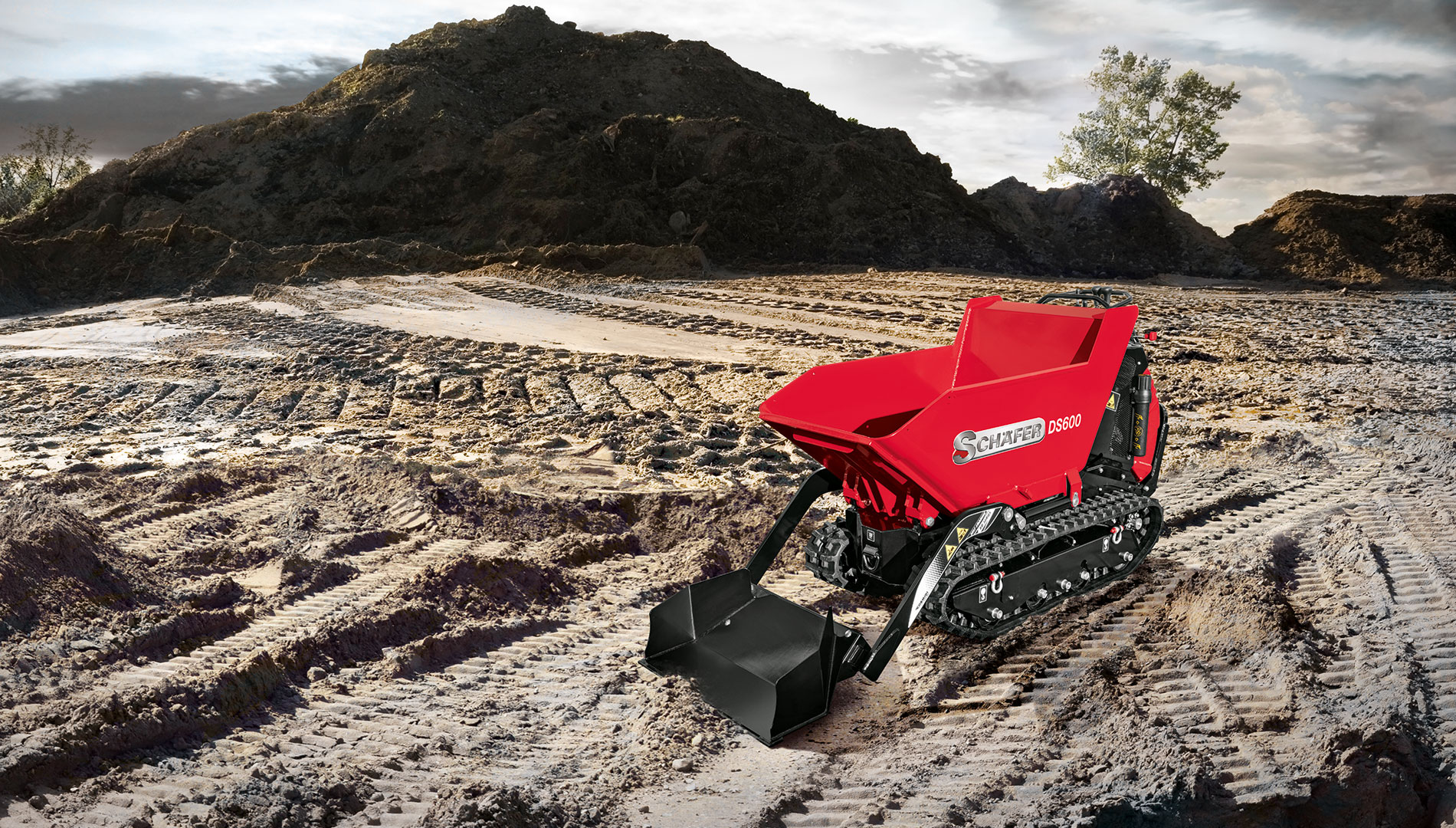 SCHAFER DS 600 D Dumpers