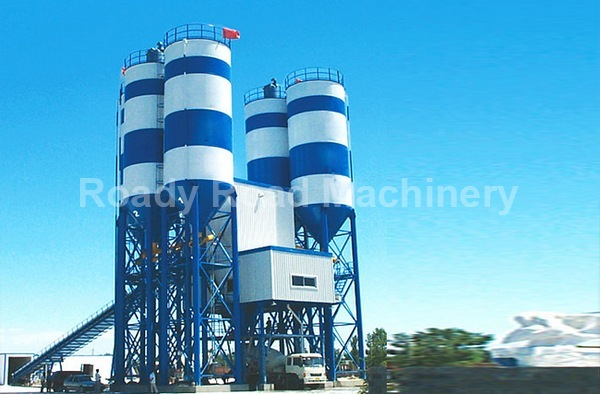 Roady HZS120 Concrete Batch Mixing Plant