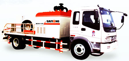SAITONG HBC80-11-110 Truck-mounted pump