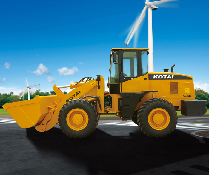 KOTAI KL836 wheel loader