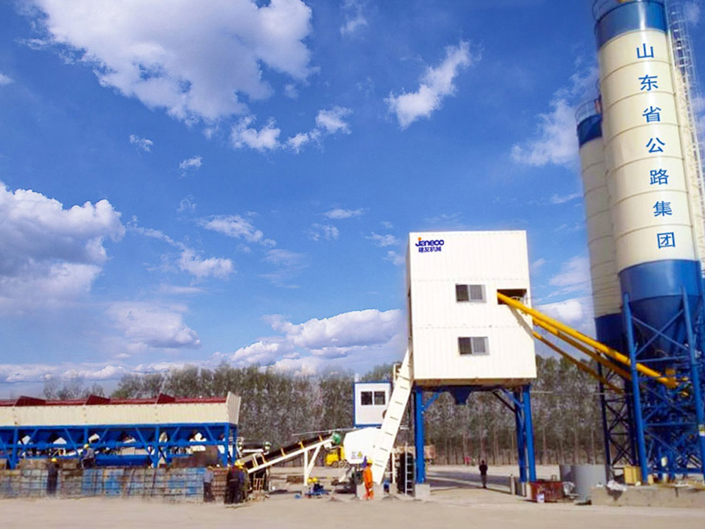 SHANTUI-JAANEOO SC Series Ready-Mix Concrete Batching Plant