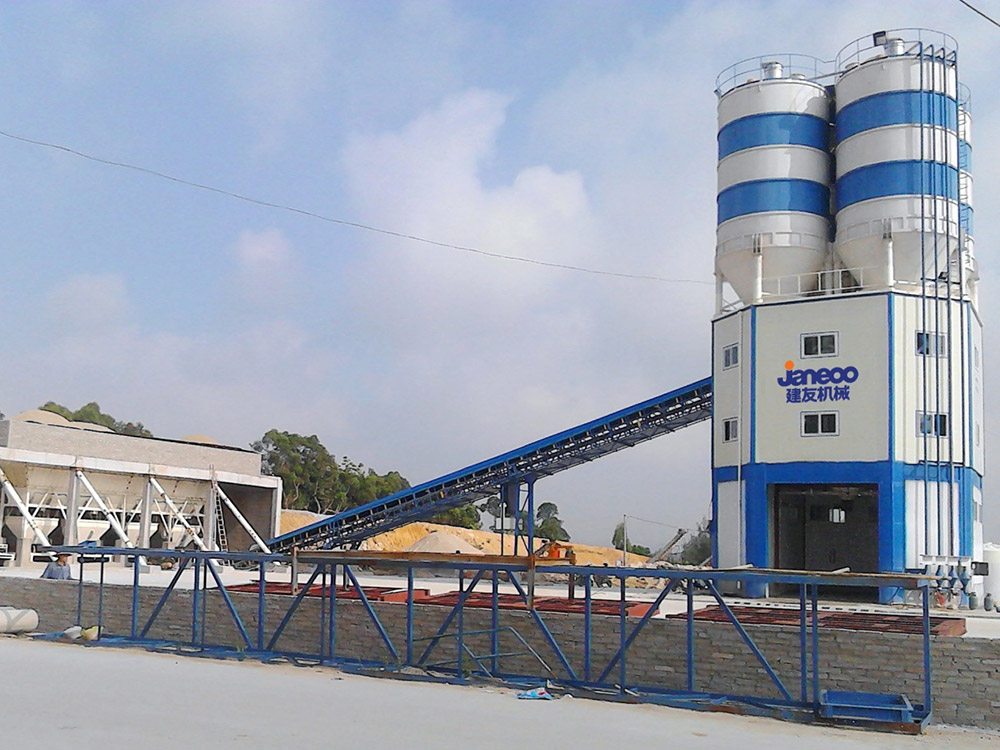 SHANTUI-JAANEOO TC Series Ready-Mix Concrete Batching Plant