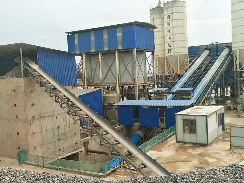 SHANTUI-JAANEOO Hydraulic Concrete Batching Plant