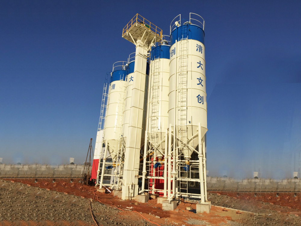 SHANTUI-JAANEOO Specialized Concrete Batching Plant