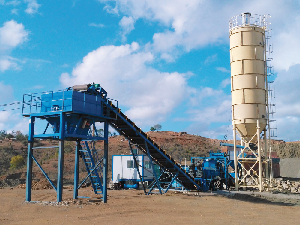 SHANTUI-JAANEOO Stabilized base materials mixing plant