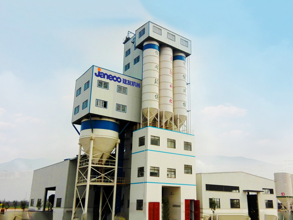 SHANTUI-JAANEOO Dry mortar mixing plant