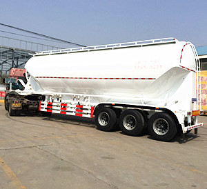 TONGYA AUTO 2018 New products Bottom Discharge Bulk Cement Tanker Semi Trailer