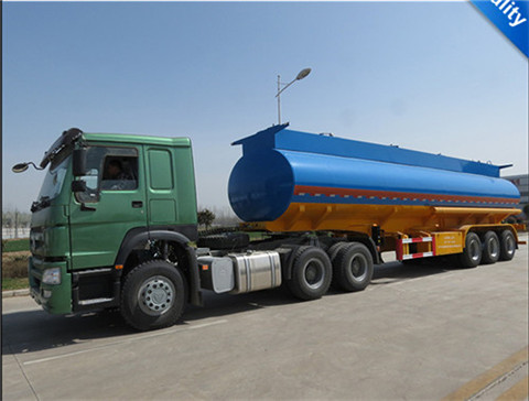 TONGYA AUTO fuel tanker semi trailer
