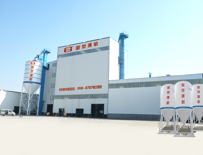 XIN Ladder Type Dry Mortar mixing plant