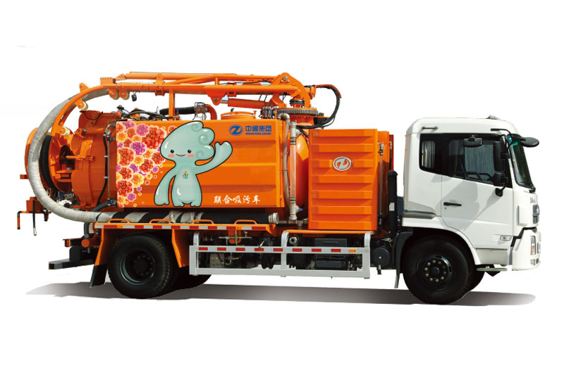 ZHONGTONG Joint Suction-type Sewage Truck Sanitation vehicle