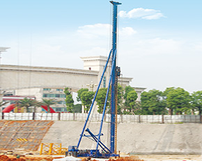 CHTC JZL120 Long Auger Drilling Rig