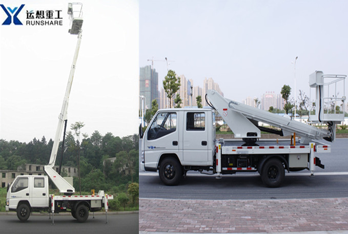 RUNSHARE JX5060JGKS-14 Vehicle-mounted boom lift