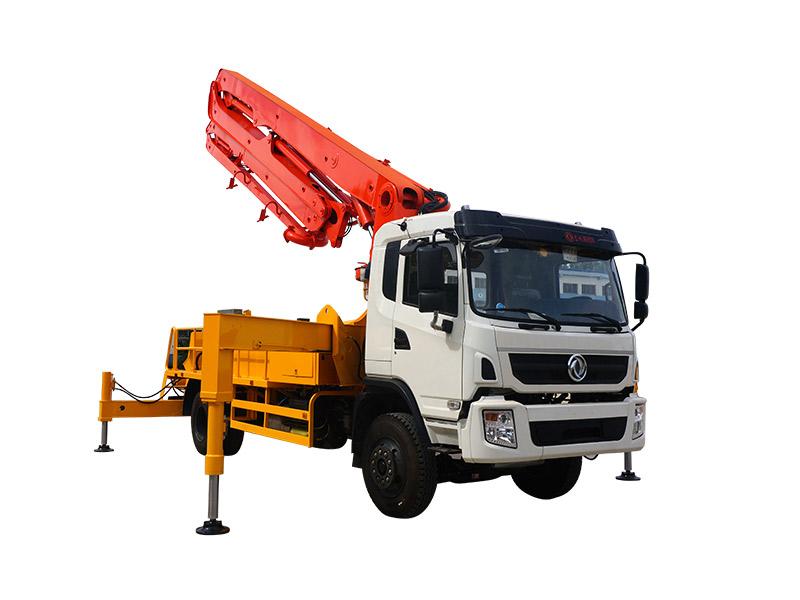 HONGDA 28m Concrete Pump Truck 山东鸿达 Truck-mounted Concrete Pump
