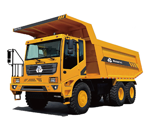 SANY SKT90MT off-highway wide-body mining vehicle Off-highway Mining Truck