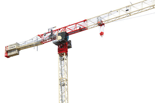 TEREX CTT 202-10 Flat top tower cranes