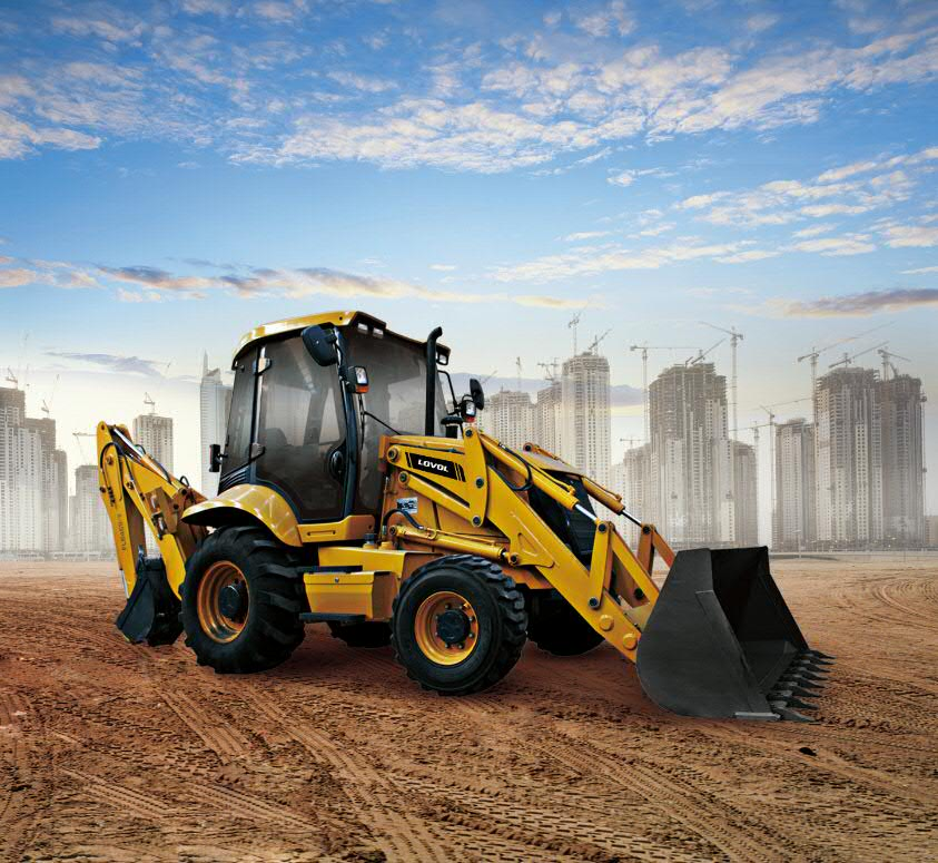 Lovol FLB468-II Venter Pivot Backhoe Loader