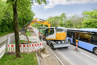 Liebherr A 910 Compact Litronic Wheeled excavators