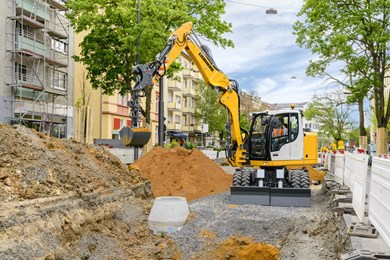 Liebherr A 912 Compact Litronic Wheeled excavators