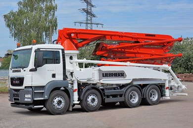 Liebherr 32 Z5 XXT Truck mounted concrete pumps
