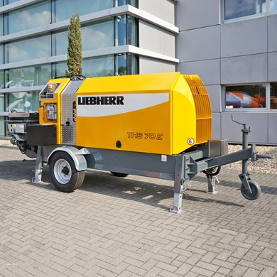 Liebherr 70 E Stationary concrete pumps