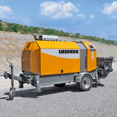Liebherr 80 D4 Stationary concrete pumps