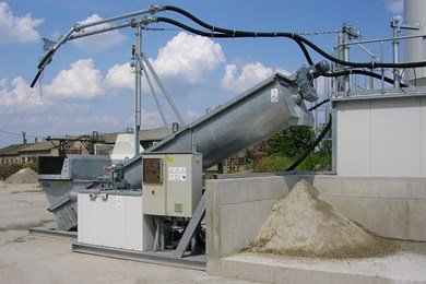 Liebherr LRS 606 mobil Concrete recycling systems