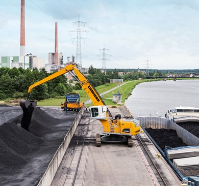 Liebherr LH 150 C Industry Litronic Electric material handling machines