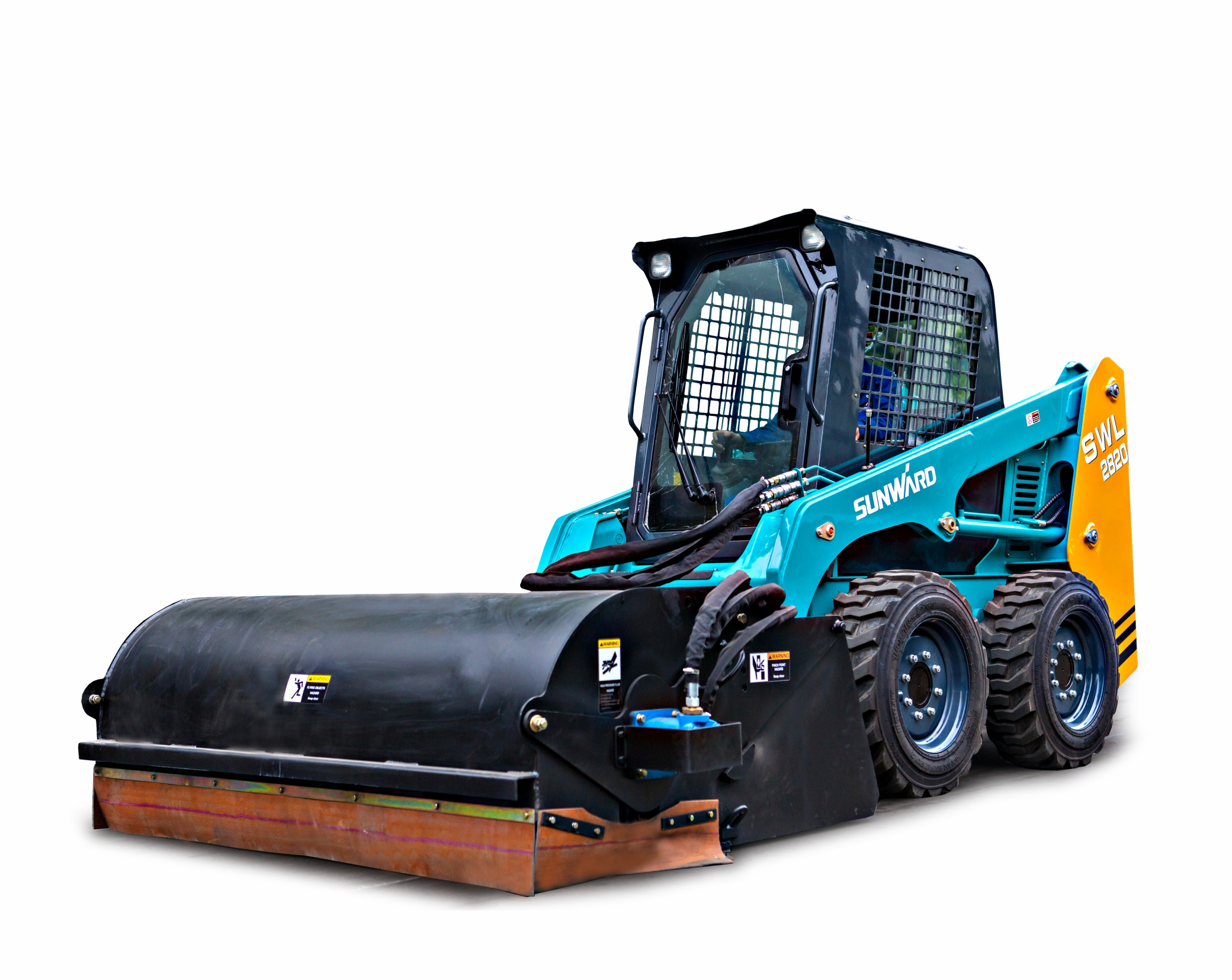 Sunward SWL2820 Wheeled skid steer loader
