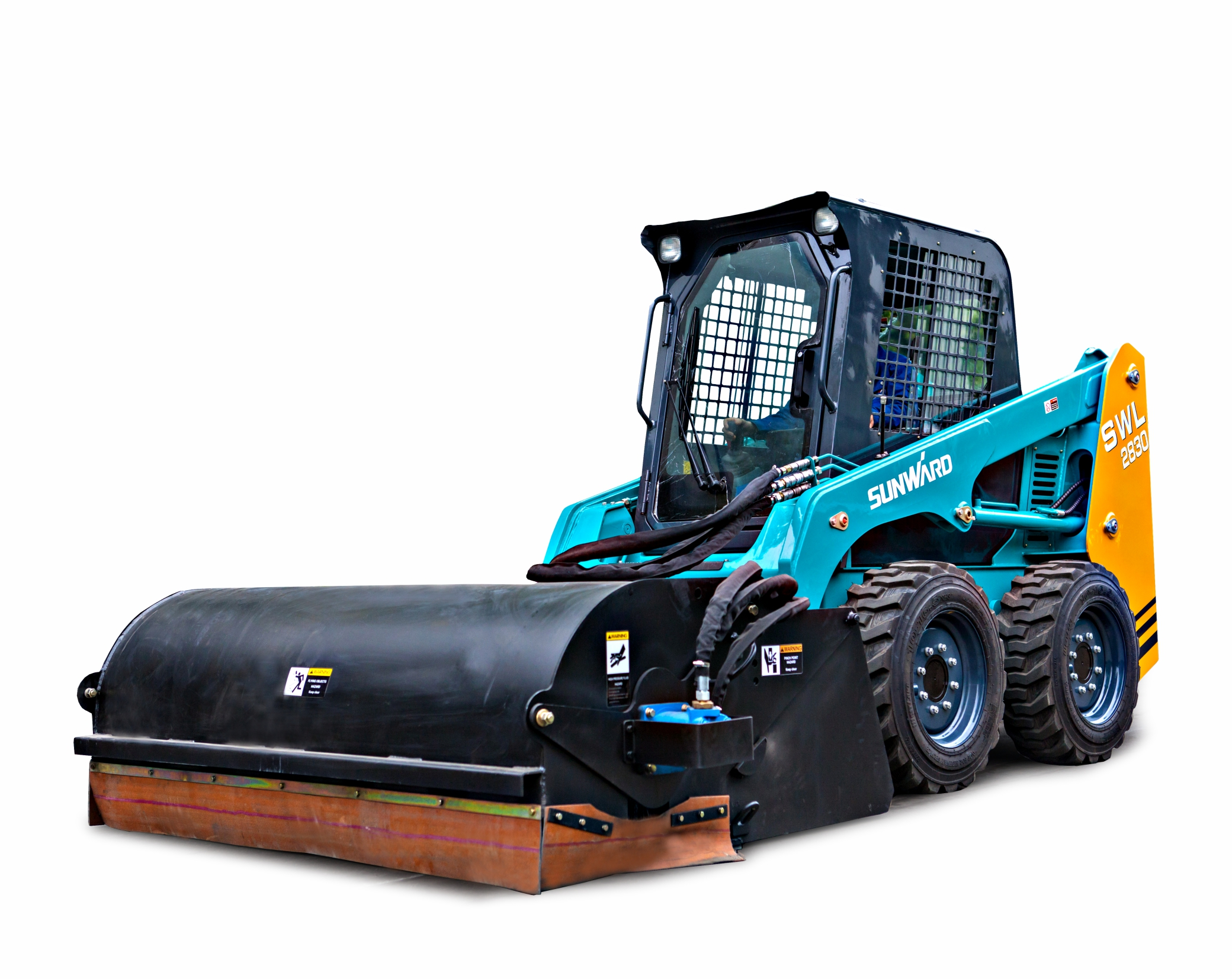 Sunward SWL2830 Wheeled skid steer loader