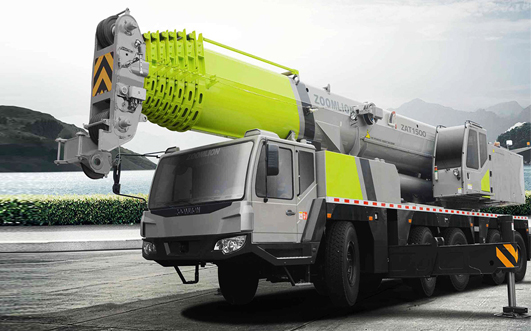Zoomlion ZAT1500 All Terrain Crane