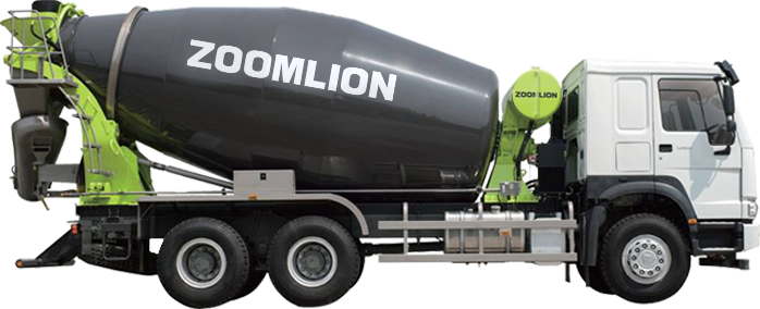 Zoomlion 6m³ Mixer Trucks