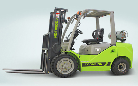 Zoomlion LPG Forklift FL30 Internal Combustion Forklift