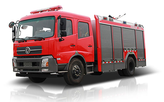 Zoomlion PM50 Foamwater tank fire fighting vehicle