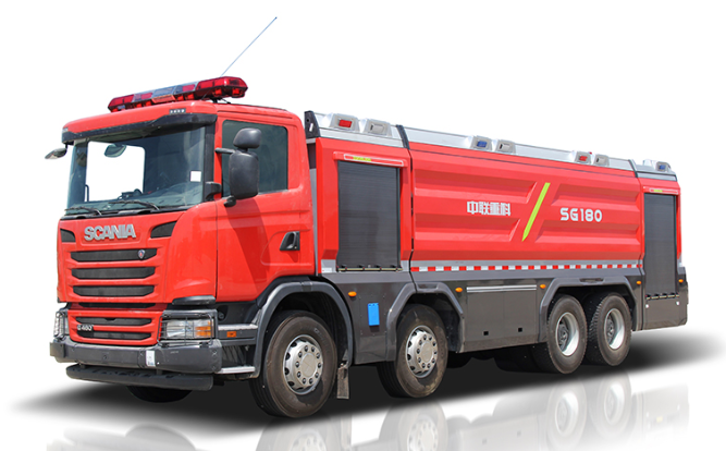 Zoomlion 5351PM180 Foamwater tank fire fighting vehicle