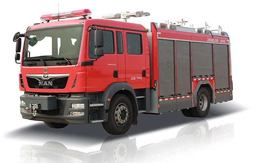 Zoomlion 5160AP45 CAFS Fire Fighting Vehicle
