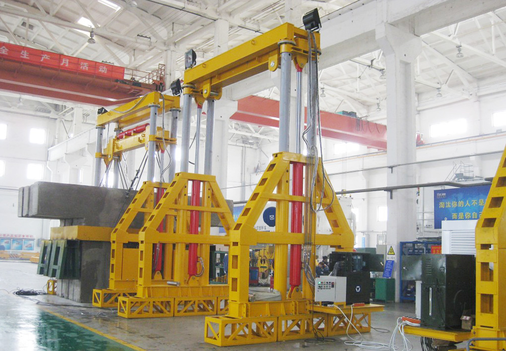 XCMG TT180 inverted gantry crane Girder Lift