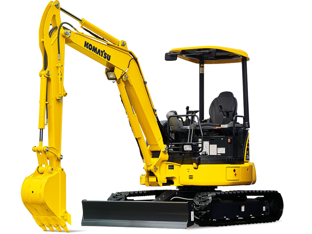Komatsu PC35MR-5 SMALL EXCAVATORS