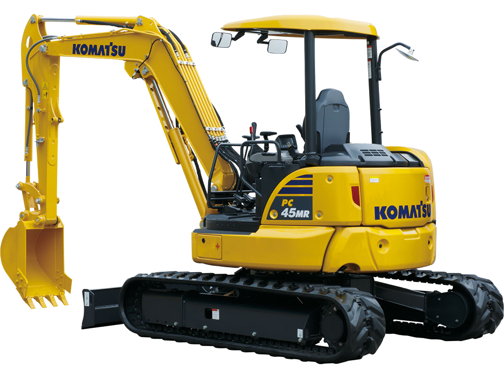 Komatsu PC45MR-5 SMALL EXCAVATORS