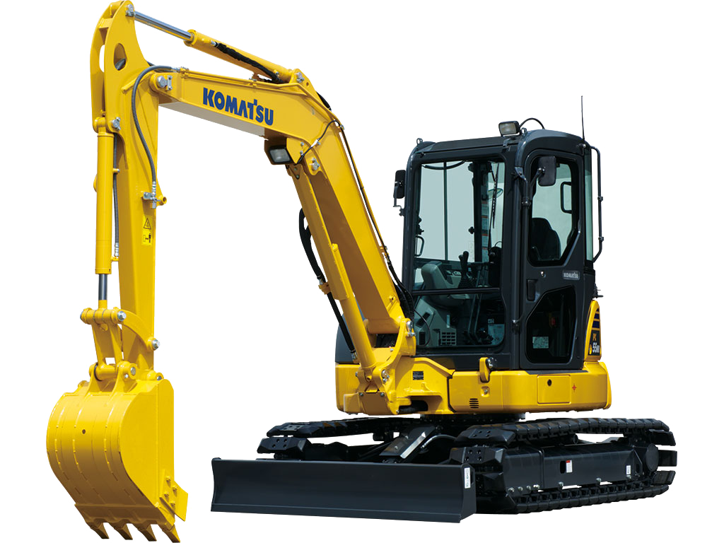 Komatsu PC55MR-5 SMALL EXCAVATORS