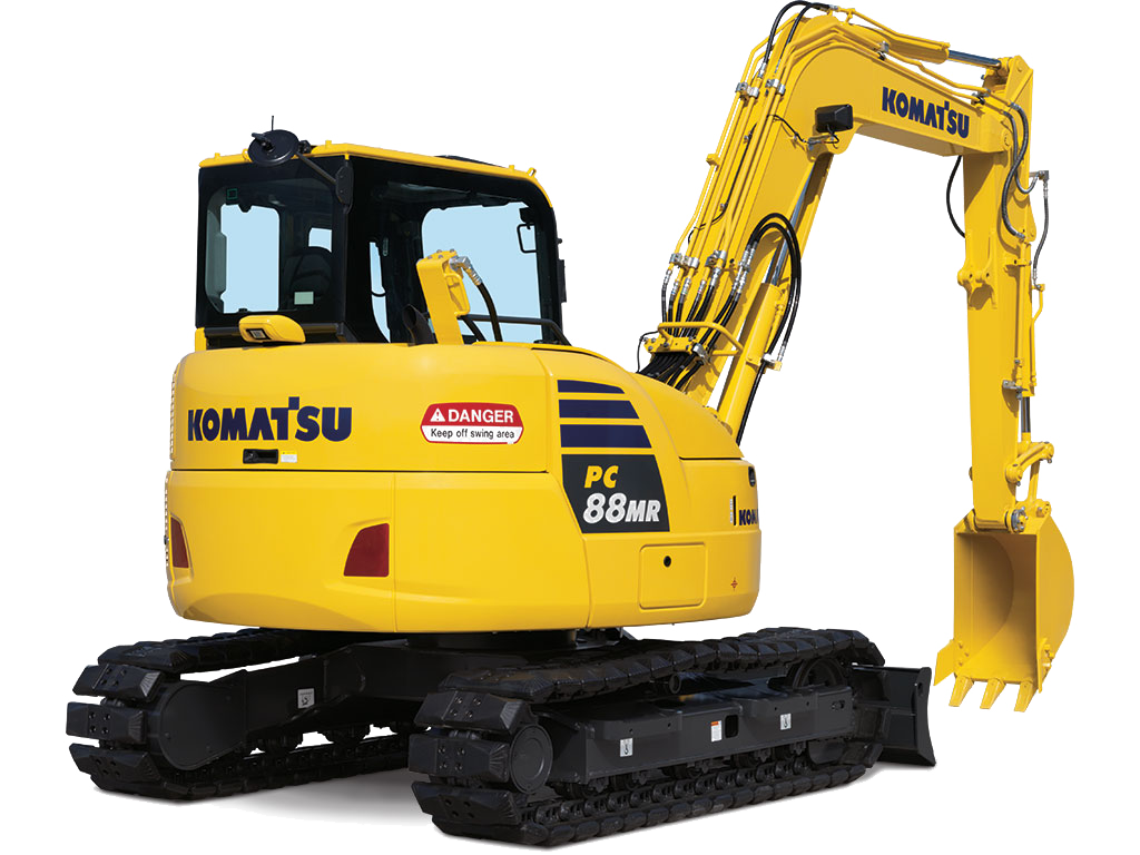 Komatsu PC88MR-10 SMALL EXCAVATORS
